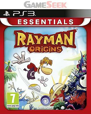 Rayman Origins (Essentials) - Playstation Ps3 Brand New Free Delivery
