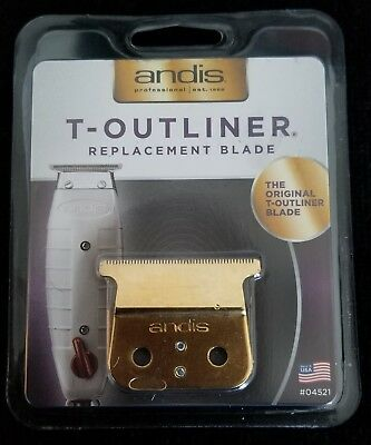 "ANDIS T-OUTLINER ""Mod"" GOLD BLADE"