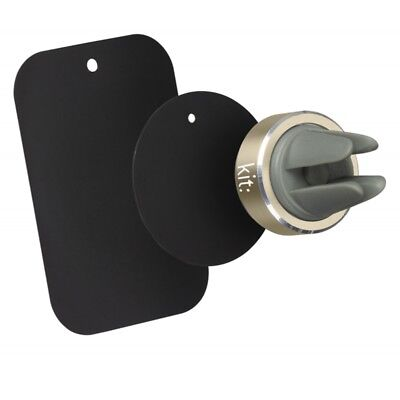 Kit Magnetic Universal In-Car Vent Holder for Smart Phones - iPhone Gold