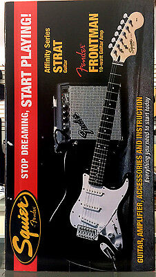 Fender Starcaster Package Beginner Electric Guitar, Amp