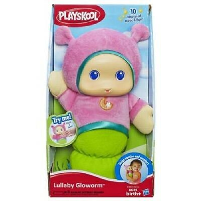 New Hasbro Playskool Lullaby Gloworm Pink A1202 Glow Worm
