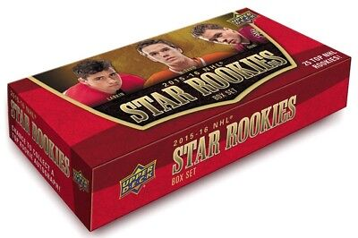 Upper Deck 2015-2016 NHL Star Rookies Box Set