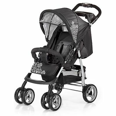 Knorr Baby V-Easy Fold Sportwagen Buggy black-white TOP