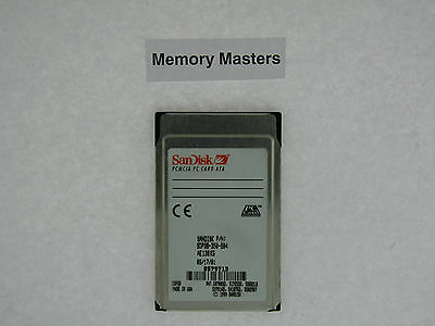 SDP3B-350-584 350 MO approuvé SanDisk PCMCIA Type II PC Carte ATA