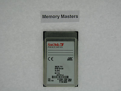 SDP3B-350-584 350MB approuvé SanDisk PCMCIA Type II PC Carte ATA