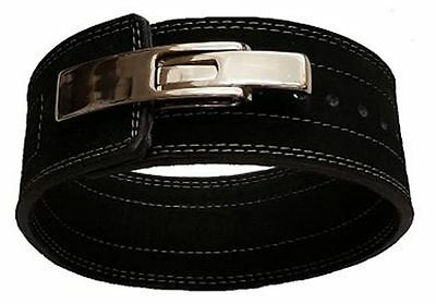 SSS Weightlifting Powerlifting 10mm LEVER Action Belt 10cm Wide Black
