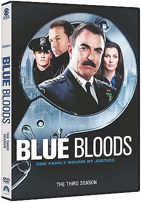 Blue Bloods Complete Season / Series 3 Dvd Englisch