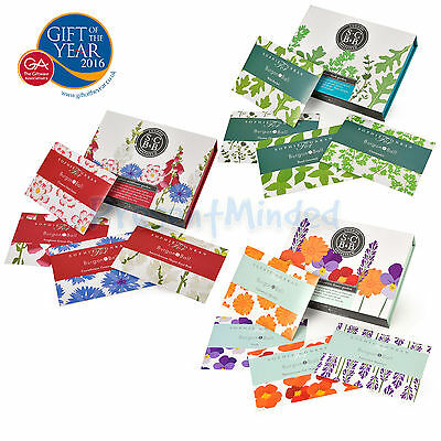 SOPHIE CONRAN SEED GIFT BOX SETS-Edible Flowers/Wildflowers/Herb Garden MUM GIFT