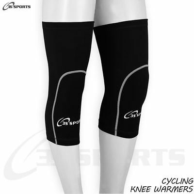Mens Cycling Knee Warmer Thermal Winter Running Cycle Knee Warmers - S- M- L- XL