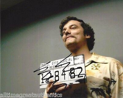 Wagner Moura Signed Narcos Tv Show 8X10 Photo 1 Coa Proof Pablo Escobar Netflix