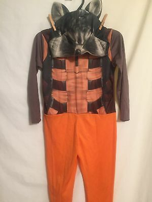 Rubies GUARDIANS OF THE GALAXY ROCKET RACCOON Halloween costume child size (5-6)