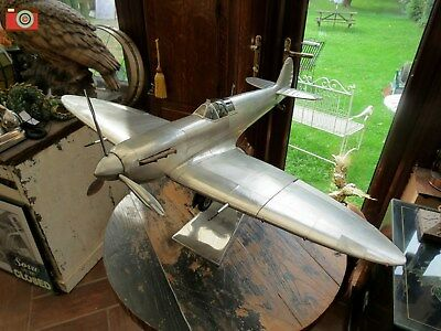 Incredible Spitfire Wwii Model. Beautiful Replica Aircraft. Authentic Models