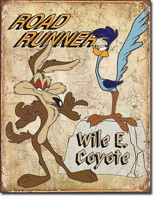 Road Runner Beep Beep Collectable Tin Metal Signs Combined Postage For 2+