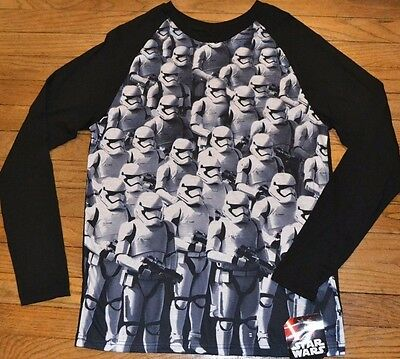 Star Wars Long Sleeve T-Shirt Stormtrooper Officially Licensed Mens Top Tee