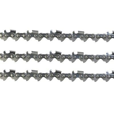 """3x Chainsaw Semi Chisel Chains 325 050 72DL 18"""" Bar for Select Model Husqvarnas"""