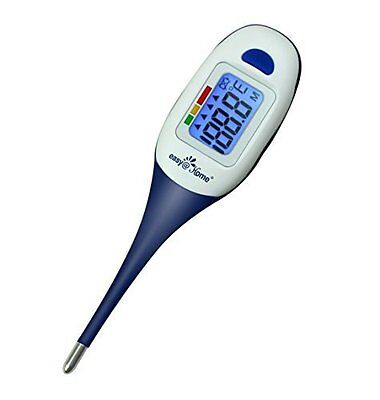 Easy@Home Digital Basal Thermometer for Oral, Rectal or Axillary Waterproof