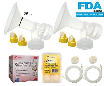 Breast Pump Kit for Medela Pump in Style Advanced Breastpumps; 2 Breastshield...
