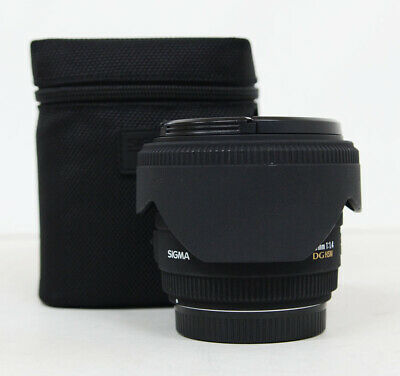 Used Sigma EX 50mm f/1.4 DG EX HSM Lens for Canon