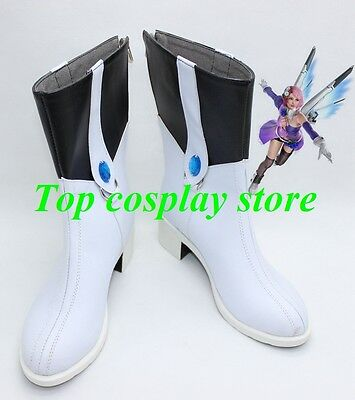 Tekken 6 Cosplay Alisa Bosconovitch Cosplay Boots shoes #TK01