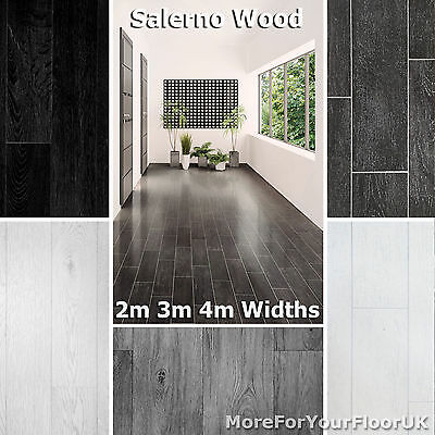 Quality Cheap Vinyl Flooring Shiny Effect Wood Plank Glossy Finish 2m 3m 4m