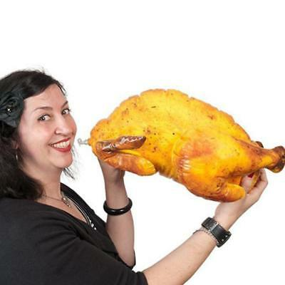 Inflatable Turkey – 40cm Long Gag Gift Blow Up Funny Fake Food Christmas Thanksg