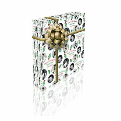 Elvis Presley Personalised Christmas Gift Wrap With 2 Tags - ADD A NAME!