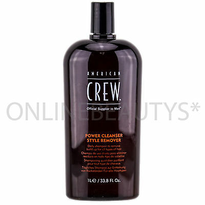 American Crew Classic Power Cleanser Style Remover Shampoo 1000ml Salon Size