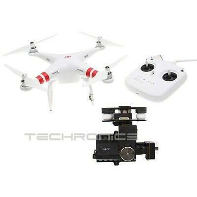 Dji Phantom 2 Quadcopter V2.0 With 3-Axis Zenmuse H4-3D Gimbal For Gopro Hero 4
