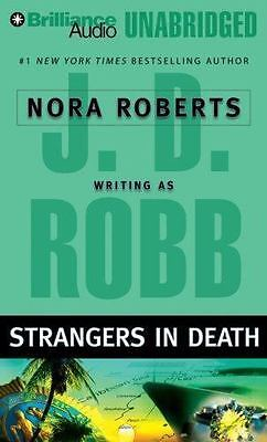 STRANGERS IN DEATH  unabridged audio CD by J.D. ROBB *** FREE SHIPPING ***