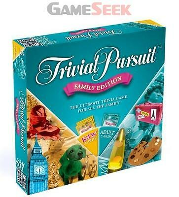 Trivial Pursuit Family Edition - Games/puzzles Board Games Brand New