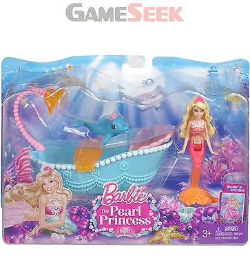 Barbie The Pearl Princess Small Doll Furniture Set - Dolls And Playsets Barbie