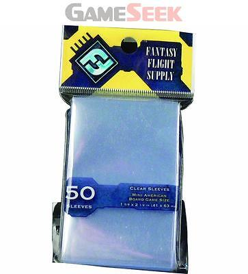 Clear Sleeves: Fantasy Flight Mini American Us Board Game Sleeves - Toys/games
