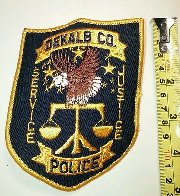 Police patch , DEKALB CO POLICE DEPARTMENT