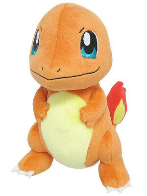 "SALE Sanei Pokemon Go Plus All Star Collection PP18 - Charmander 6.5"" Plush Doll"