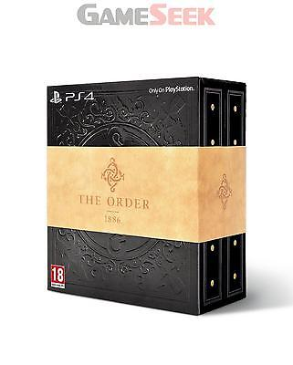 The Order 1886 Blackwater Collectors Edition - Playstation Ps4 Brand New