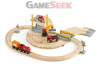 Brio Road And Rail Crane Set Bri-33208 | Free Delivery Brand New Gadgets Other