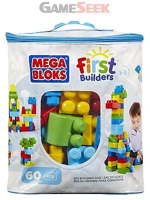 Mega Bloks Classic Buildable Bag (60 Pieces) - Toys Brand New Free Delivery