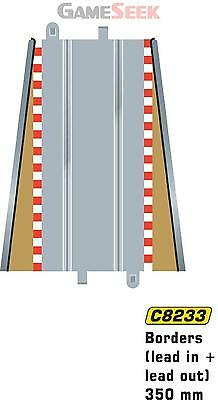 Scalextric Lead In Lead Out Border Barrier 1:32 Scale - Toys Brand New