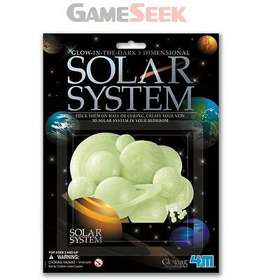 Great Gizmos Glow In The Dark 3D Solar - Toys Brand New Free Delivery