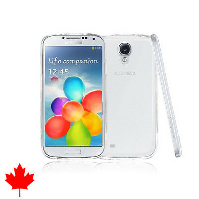 Samsung Galaxy S4 IV Crystal Clear Soft Transparent Silicone TPU Case Cover
