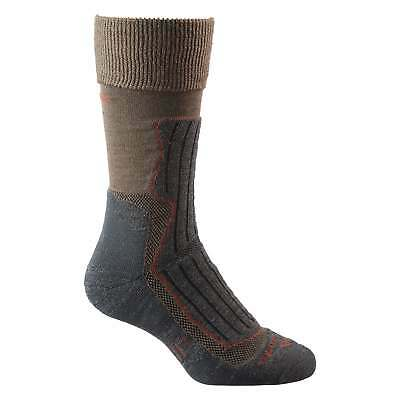Kathmandu Alpine Trek MerinoLink Lightweight Sports Hiking Socks v2 Brown Grey