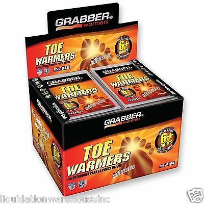 Grabber TOE Warmers 40 Pair (Fresh 2019 Expire)