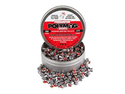 JSB Polymag Shorts Pellets Hunting Airgun Sample Packs.