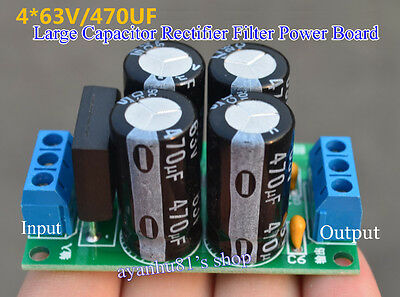 AC to DC 4A Rectified Filtered Dual Power Supply Board PSU for Audio Amplifier