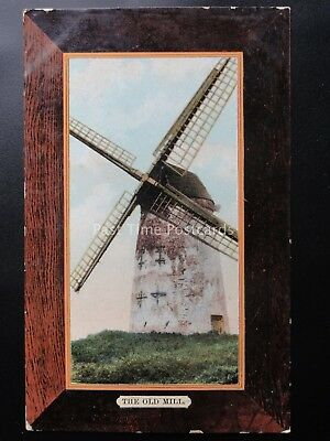 Monmouthshire NEWPORT The Old Mill - Windmill c1908 Old Postcard