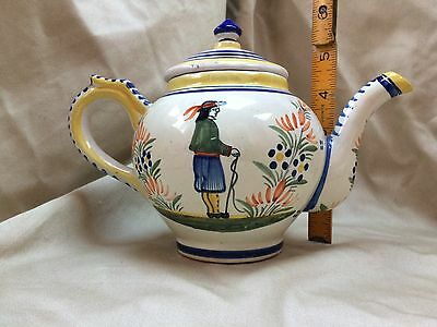 Quimper Tea Pot