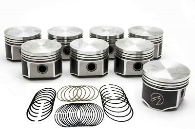 Speed Pro/TRW Chrysler/Dodge 383 Forged Flat Top Pistons+Rings Kit +40