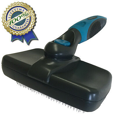 Wiredog Self Cleaning Dog or Cat Slicker Brush - Exclusive Lifetime Guarantee.