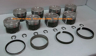 Speed Pro/TRW Ford 428 Super CJ Cobra Jet Forged Coated Pistons+RACE Rings +40