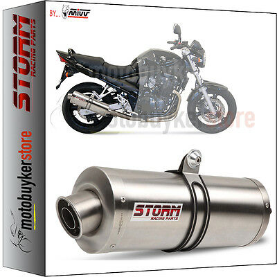 74.S.017.LX1 ESCAPE STORM by MIVV OVAL SUZUKI GSF BANDIT 650 2005 05 2006 06